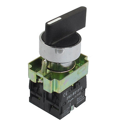 On/Off/On Momentary Long Handle 3 Postion Rotary Selector Switch 22mm ZB2-BJ53