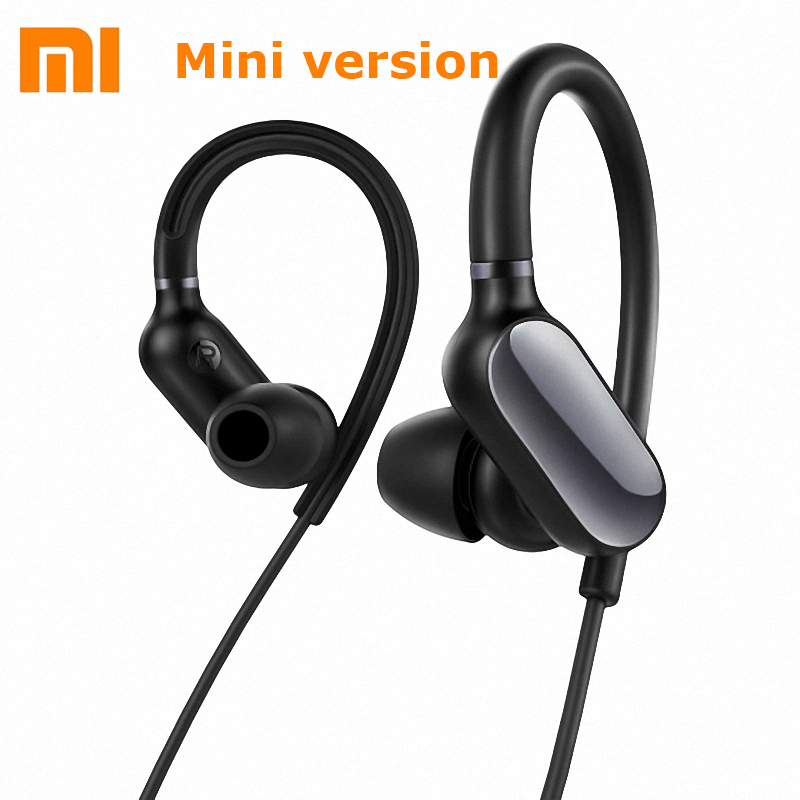 Original Xiaomi Mini Sports Bluetooth Earphone IPX4 Waterproof MI wireless headset with Mic Connect with Two Devices new dacom carkit mini bluetooth headset wireless earphone mic with usb car charger for iphone airpods android huawei smartphone