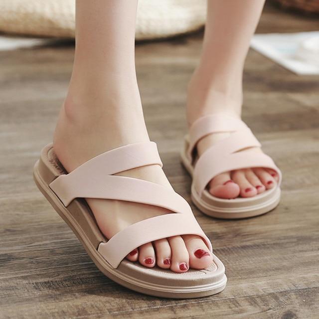 Women summer shoes sandals comfortable casual shoes women flats sandals