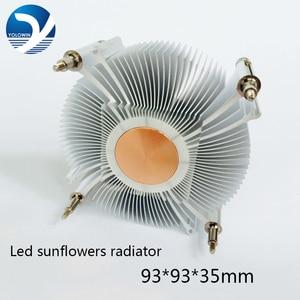 Image 1 - Disipador de calor para CPU, ventilador de enfriamiento para Intel LGA1155 / 1156 93*93*35mm, ventilador de radiador de aluminio, disipador de calor para ordenador