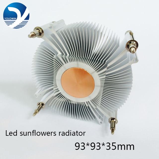Disipador de calor para CPU, ventilador de enfriamiento para Intel LGA1155 / 1156 93*93*35mm, ventilador de radiador de aluminio, disipador de calor para ordenador
