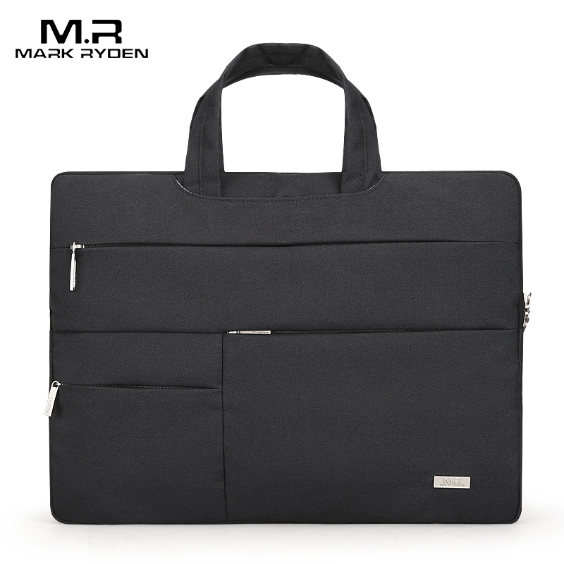 Mark Ryden Man Laptop Bag Waterproof Can Fit 15.6 Inch Handbags Briefcase Male