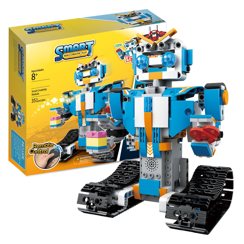Técnica RC Control remoto Robot inteligente LegoINGLYs Robot impulso creativo Técnica Caja de Herramientas ensamblar bloques de ladrillos juguetes para niños