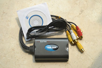 4 Channel Video 2CH Audio USB CCTV Capture DVR Box Card Real Time Monitor 64bit