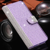 KISSCASE Diamond Capa Luxury Bling Crystal Rhinestone Flip Case For iPhone 6 6S Plus 4.7 5.5 Wallet Stand Leather Cover Bag