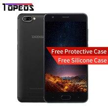 DOOGEE X20 5.0 pouce Smartphone RAM 2 GB ROM 16 GB Android 7.0 MT6580 Quad Core Arrière Caméra 2580 mAh GSM WCDMA GPS Mobile téléphone