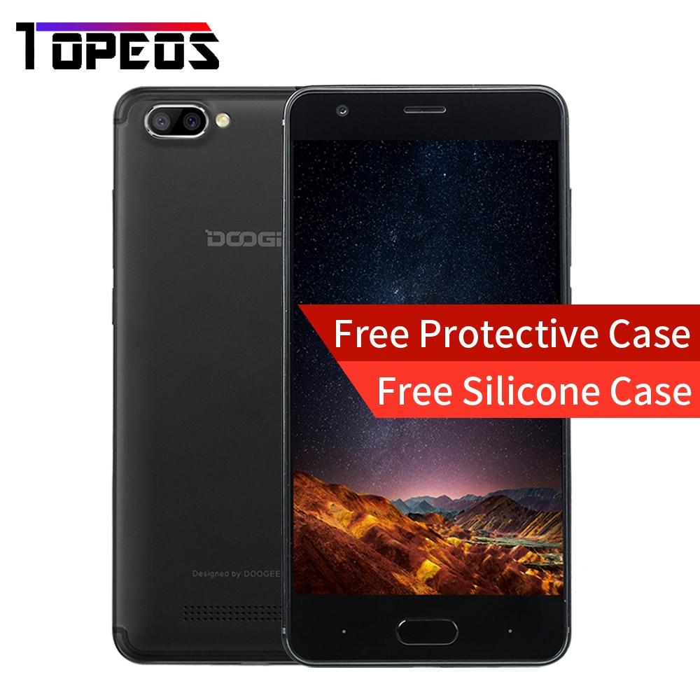 bilder für DOOGEE X20 5,0 zoll Smartphone RAM 2 GB ROM 16 GB Android 7.0 MT6580 Quad Core Rückfahrkamera 2580 mAh GSM WCDMA GPS handy