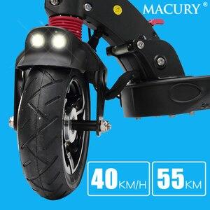 Image 4 - Macury patinete eléctrico GRACE9 GRACE & ZERO 9, aeropatín plegable de 2 ruedas, 8 pulgadas, para adultos, ZERO9, 8,5 pulgadas, ligero, Mini, plegable, T9, 9S, 48V