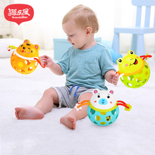 Купить с кэшбэком New Hot Infant Baby Toys Baby Rattles Rattle Strollers For Dolls For Toys 0-12 Months Bed Bell Stroller Toy Toys Infant