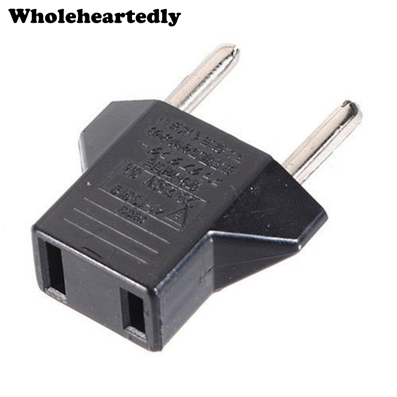 Universal US to EU AC Power Plug Travel Converter Europe Euro Wall Charger Jack Connector Socket Adapter Adaptor for home travel