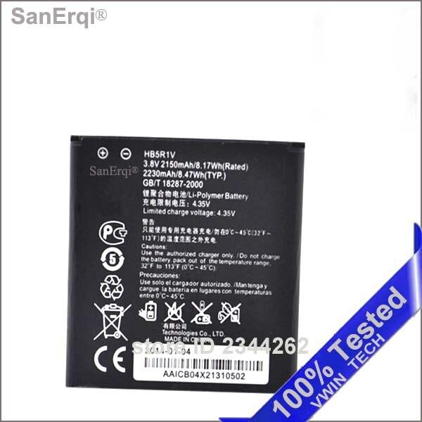 HB5R1V pour Huawei Honor 2 3 En Plein Air U8832D U9508 U8836D Ascension G500 G600 U8950D T8950 C8950D 2150 mAh Batterie