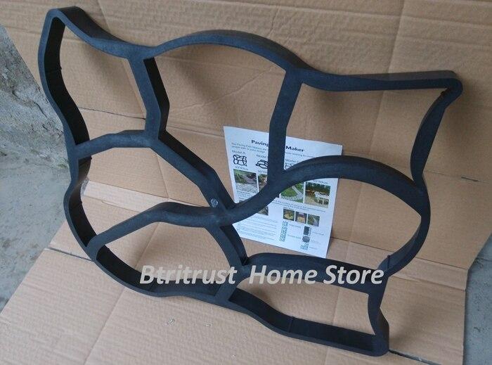 cheapest ABS plastic moulds baluster side column mold F46 home villa garden concrete molds for sale