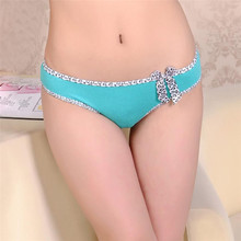 New Hot Cotton with Lace Side best quality Underwear Women sexy panties Casual Intimates female Briefs Cute Lingerie N812