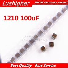 50pcs 1210 100uF 107K 250V X7R 10% SMD Ceramic Capacitor MLCC