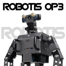 лучшая цена ROBOTIS OP3 Dynamic humanoid intelligent dual-core robot open source platform high-performance programming
