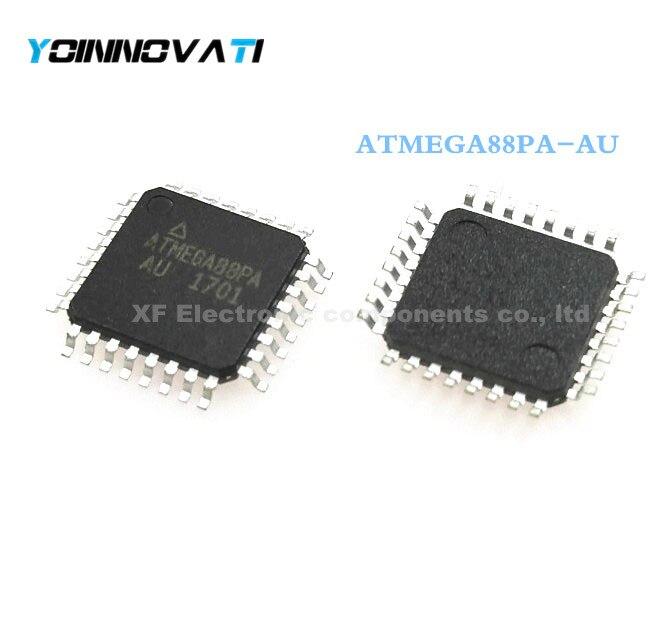 Free Shipping 100pcs ATMEGA88PA AU ATMEGA88PA TQFP32 MCU 8BIT 8KB FLASH 32TQFP best quality