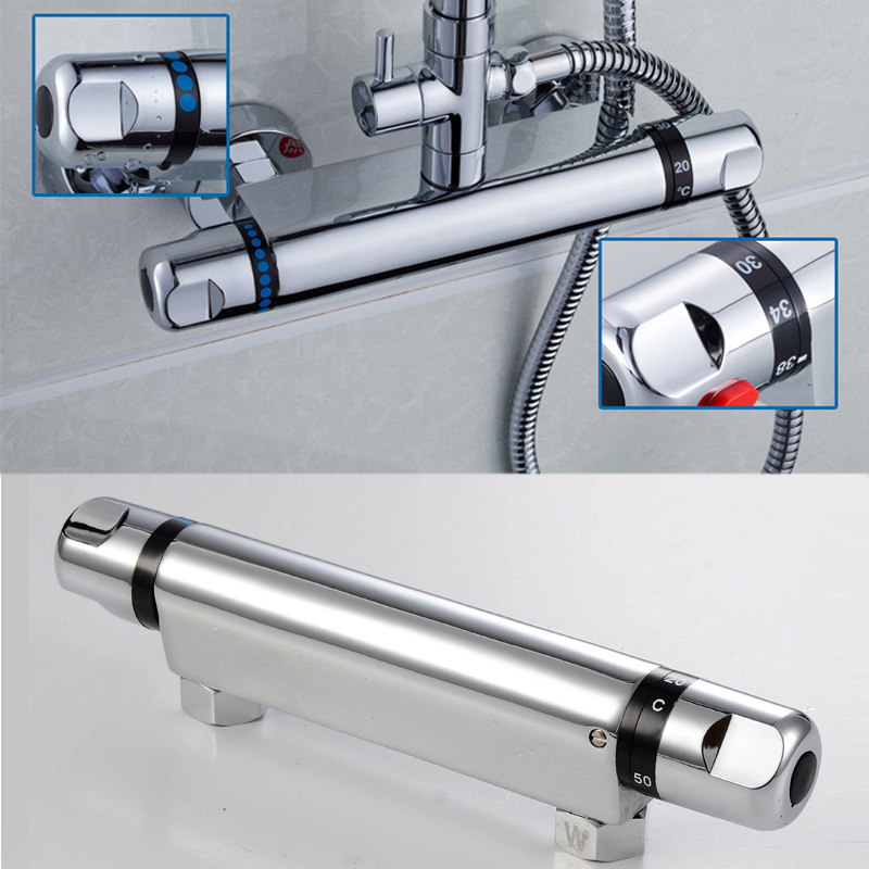 High quality Thermostatic Mixing Valve For shower Faucet Automatic ...