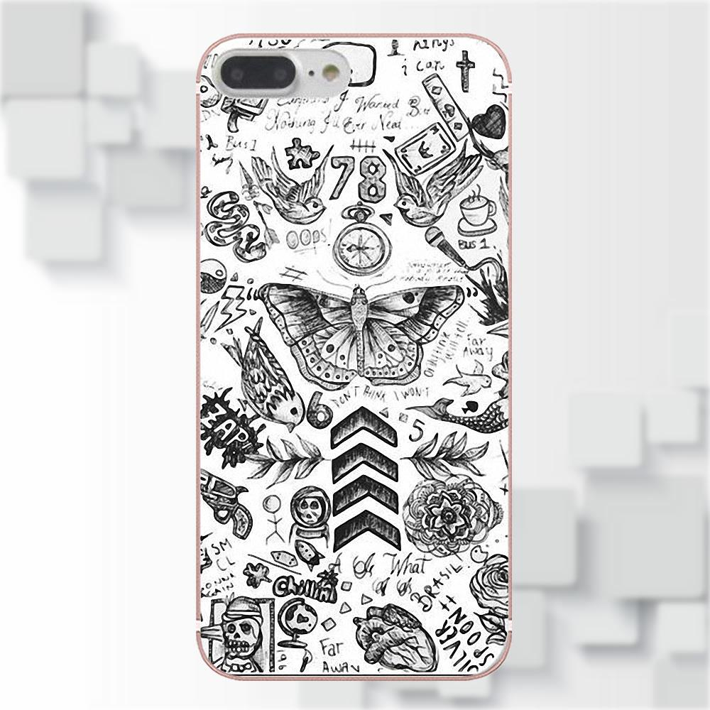Omdnwd Phone Case Harry Styles Tattoos For Xiaomi Redmi 5 4a 3 3s Slim Matte Black Babyskin Plus 5plus New Hot Type Pro Mi4 Mi4i Mi5 Mi5s Mi Max Mix 2 Note 4