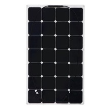Boguang 2x100W flexible solar panel solar powered fishing boat RV connection 12V solar module solar charger