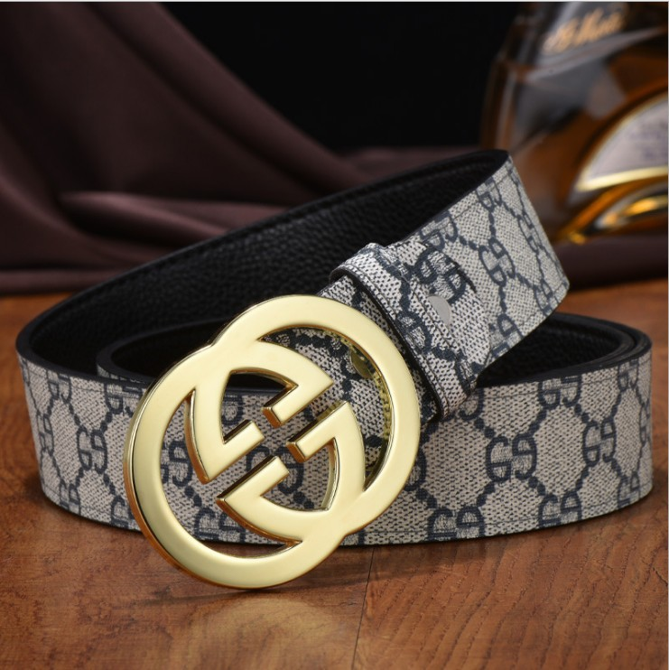 100% high quality men and women's genuine leather   belts   women casual g buckle fashion   belts   luxury brand   belts