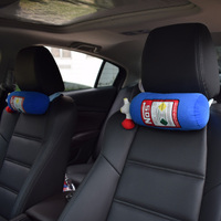 2017 Auto JDM NOS Nitrous Car Cushion Seat Cover Hellaflush Neck Rests Pillow Bolster NOS Headrest