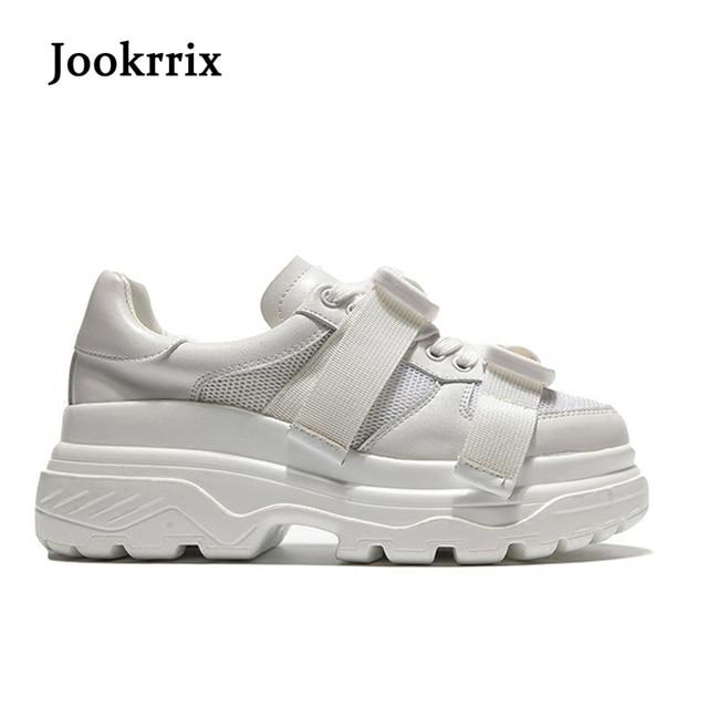 Spring New Casual Scarpe Fashion Donna Jookrrix Bianco Sneaker Lady 5ZRwzg