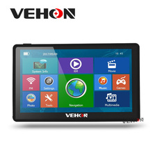 GPS Navigation 7 inch 8GB 256MB Capacitive Screen, Bluetooth, AV-IN FM Function For Car Truck