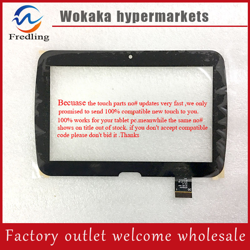 New For 7'' inch Tablet PC Digitizer Touch Screen Panel Replacement part HOTAOUCH HC182119A1 FPC V1 Free Shipping new for 11 6 inch tablet pc digitizer touch screen panel replacement part fpca 11a05 v01 free shipping