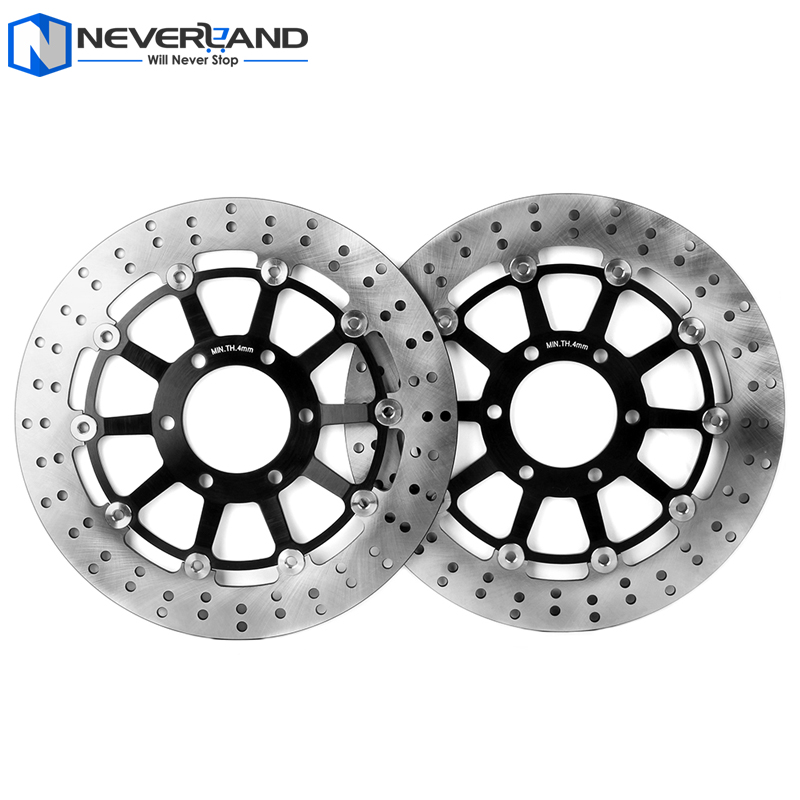 2pcs Front Brake Disc Rotor For TRIUMPH SPEED TRIPLE T955 955 1997-2001 Motorcycle for triumph speed triple 955cc 02 04 motorcycle front and rear brake pads set