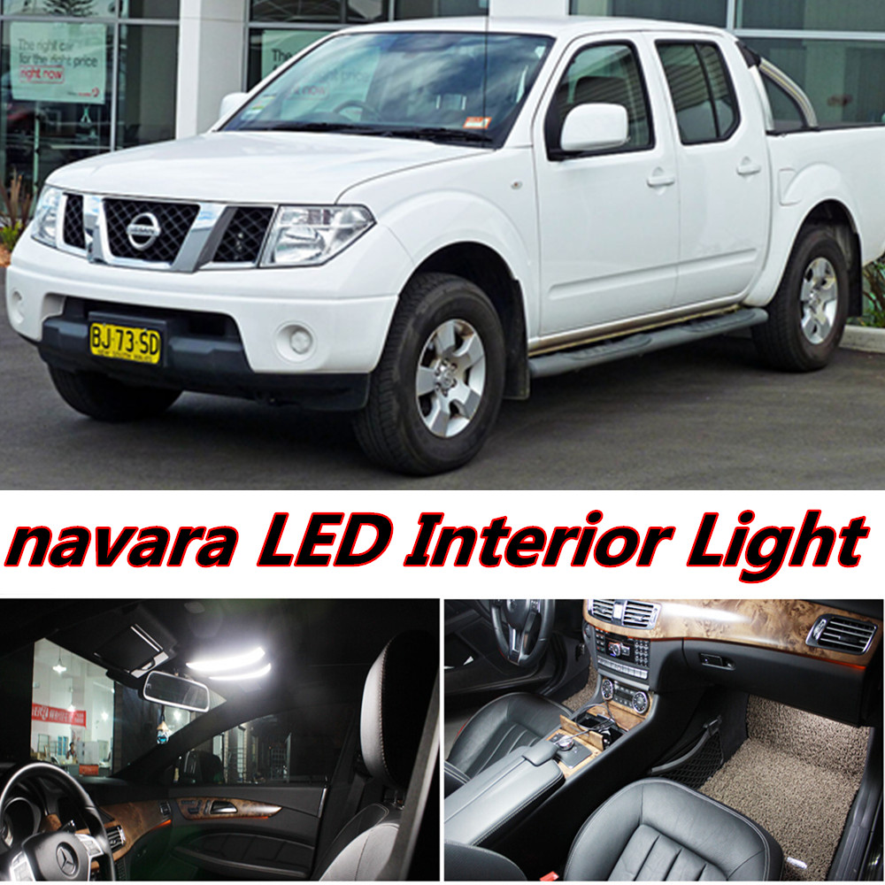 6 x error free car led bright vehicle interior map dome door lights kit package for