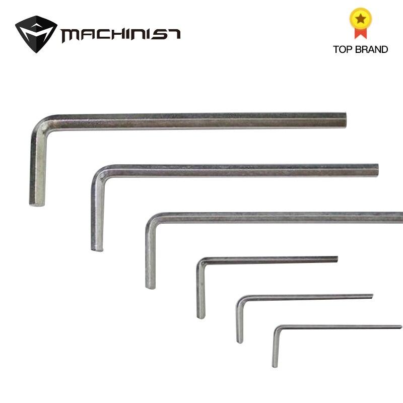 5pcs/set L-Shape Plum Hex Torx Star Wrench Set For Inner Hexagon Screw Allen Wrench Apposite Side Lengthen 4mm/5mm