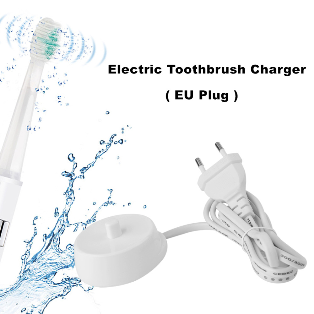Replacement Electric Toothbrush Charger Model 3757 110-240V Suitable For Braun Oral-b D17 OC18 Toothbrush Charging Cradle 2pcs philips sonicare replacement e series electric toothbrush head with cap