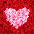 Mejores Ventas 2000 unids/lote Petalos De Rosa Boda Decoraciones Moda Atificial Flores Poliéster Boda Pétalos de Rosa RP2