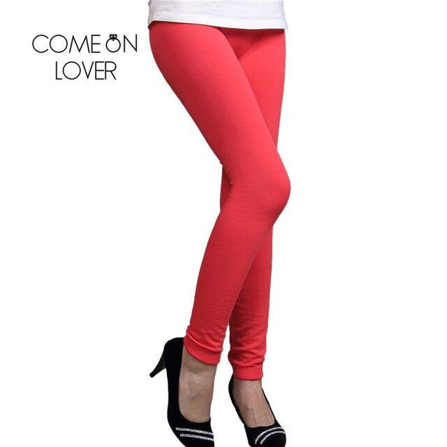 2742237ed08 Comeonlover Meilleur Vente 4 Couleurs Haute Qualité Hiver Leggings Mode  Femmes Pas Cher Prix Dames Pantalon