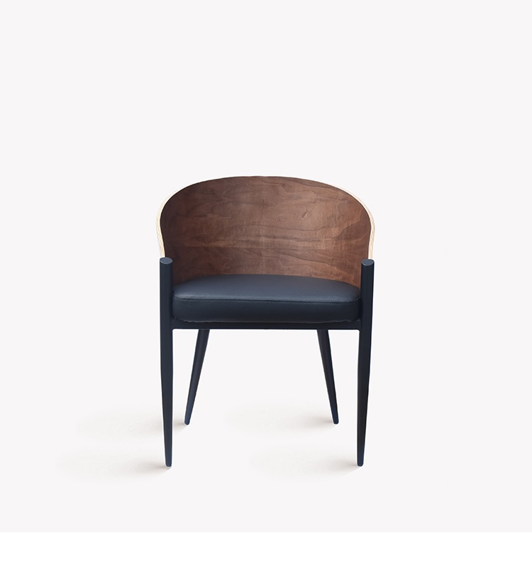 Italy Design Chair with High Armrest of Shaping PlywoodItaly Design Chair with High Armrest of Shaping Plywood