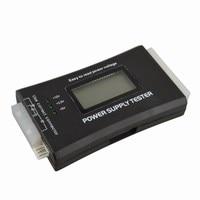 ATX Dijital LCD PC Güç Kaynağı Test Cihazı w/Dijital LCD ekran 20/24 Pin 4 SATA HD HDD Ölçer