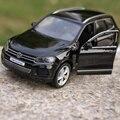 Бесплатная Доставка 1:36 1 шт. 12.5 см Деликатес Volkswagen Touareg автомобиль мини сплава вытяните назад модель украшения мальчик детские игрушки
