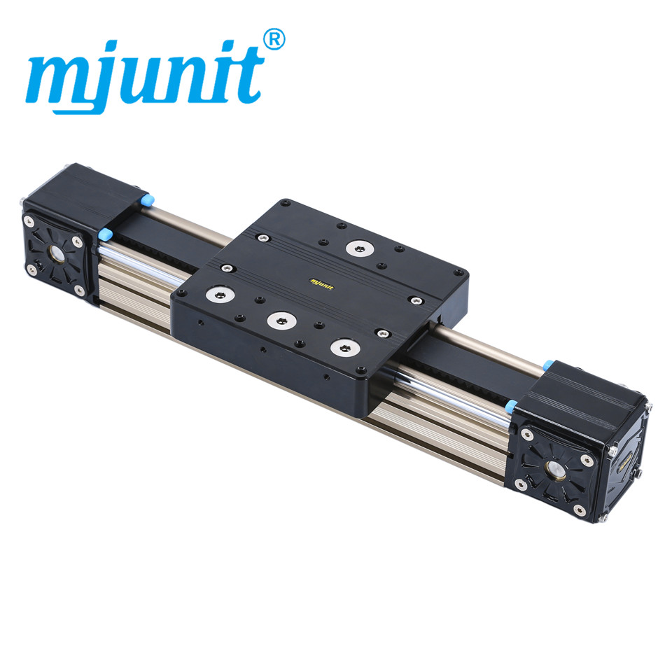 все цены на mjunit MJ80 Linear Rail Guide Carriage Block for 3D Printer CNC Machine Parts with 300mm stroke length онлайн