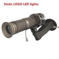 Логотип проектор 10 Вт 20 Вт светодиодный поворот изображения 5000 люмен Dynamic реклама лампы Водонепроницаемый IP65 с 1 шт. 2 цвета gobo объектив