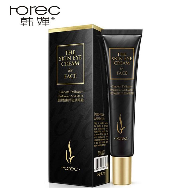 HANCHAN Hyaluronic Acid Eye Cream Face Care Anti Wrinkle Remove Dark Circles Moisturizing Hydrating Whitening Firming Eye Cream