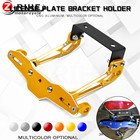 for 1pcs Fender Eliminator motorcycle License Plate Bracket Universal For KTM 690 DUKE 990/1290 SUPER DUKE RC8/R Orange with lo