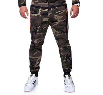 PADEGAO 2018fashion new mens Sweatpants fitness Joggers Pants Casual pants cotton camouflage  elastic Sports