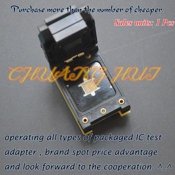 TEST Detect BGA133-0.5 MCP/POP test socket TFBGA133 BGA133 ic socket Pitch=0.5mm
