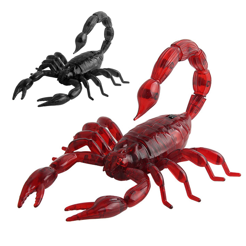 Funny Simulation Infrared RC Remote Control Scary Creepy Insect Cockroach Toys Halloween Gift FJ88