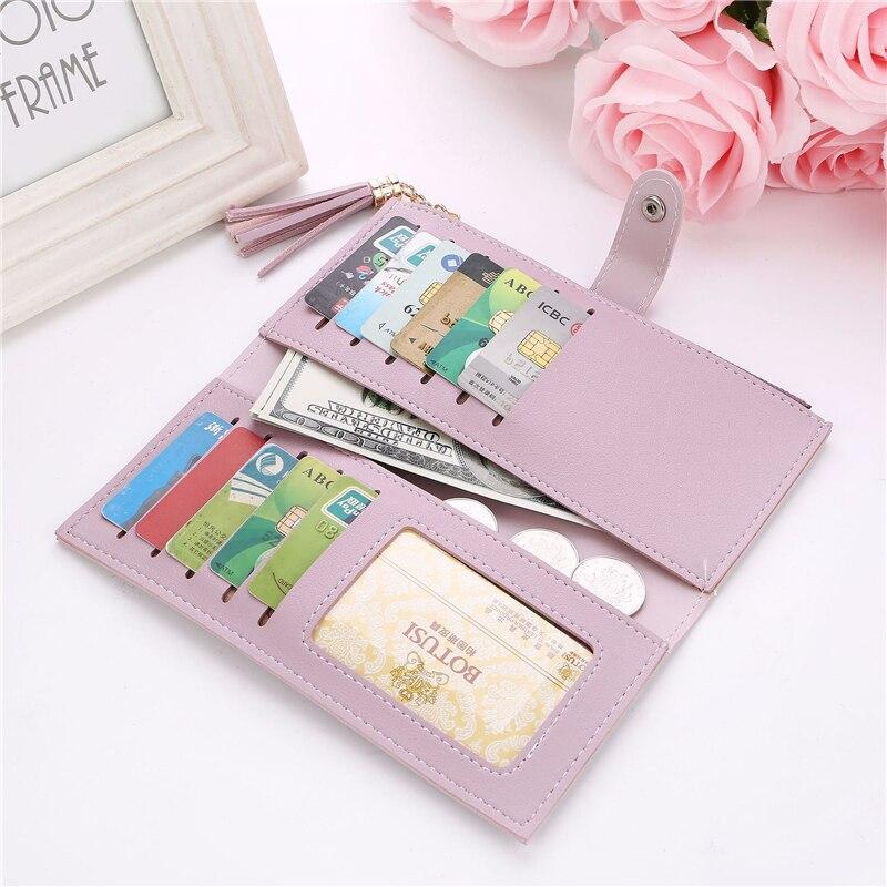 Fashion wallets women famous desinger women's wallets fancy female purses card rfid holder travel Ladies cheque wallets Clutches 4