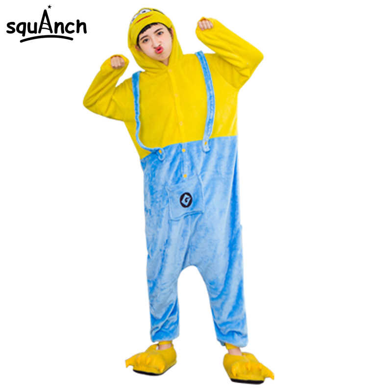 18882bd33 Detail Feedback Questions about Cartoon Onesies Minions Pajama With ...