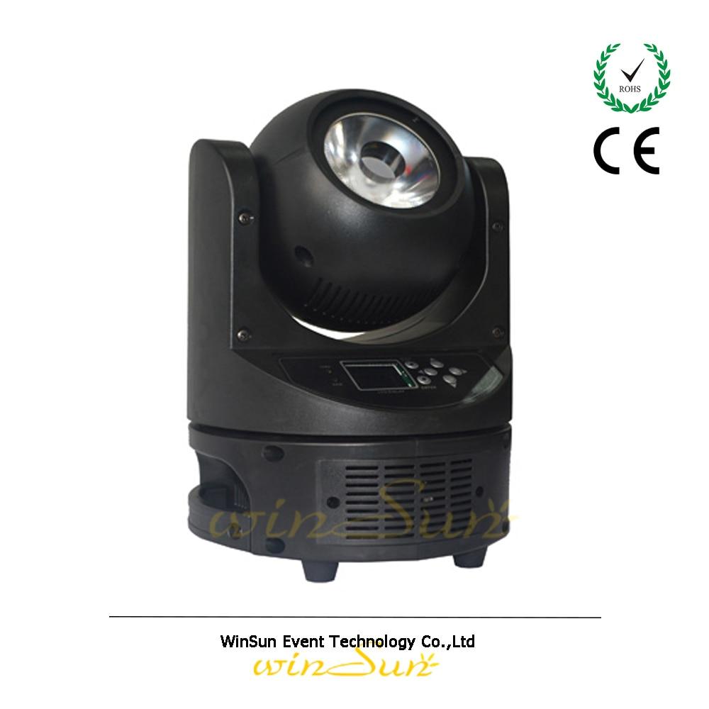 Litewinsune 4pcs/lot DMX 60W LED Moving Head Beam brighter than phlatlight 60w led chip module cst90 ssd90 60w led moving head lights source 6500k 3000 lumen
