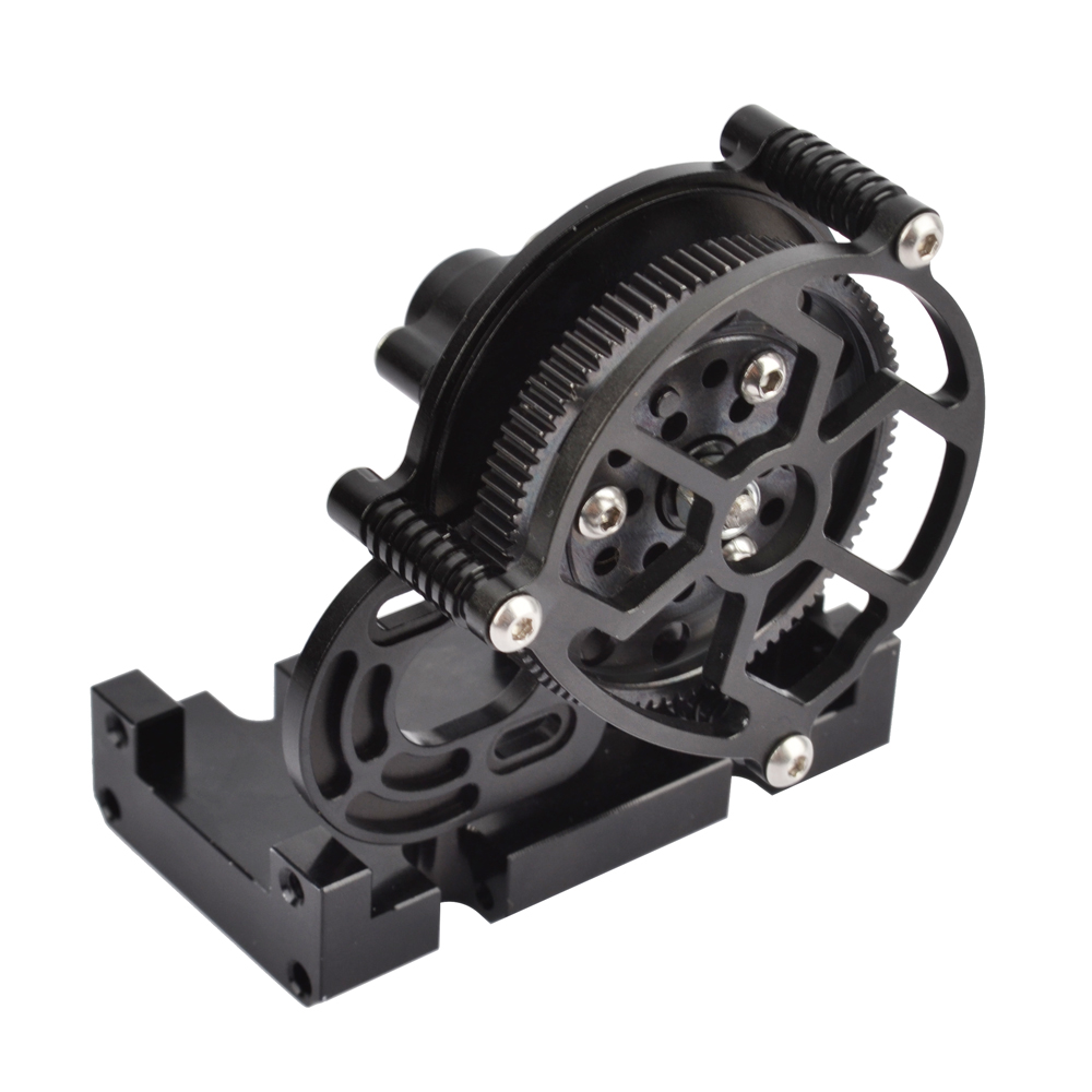 Image 4 - RCAIDONG Metal Gearbox Transfer Case Mount Holder for Axial SCX10 D90 D110 1/10 RC Crawler-in Parts & Accessories from Toys & Hobbies