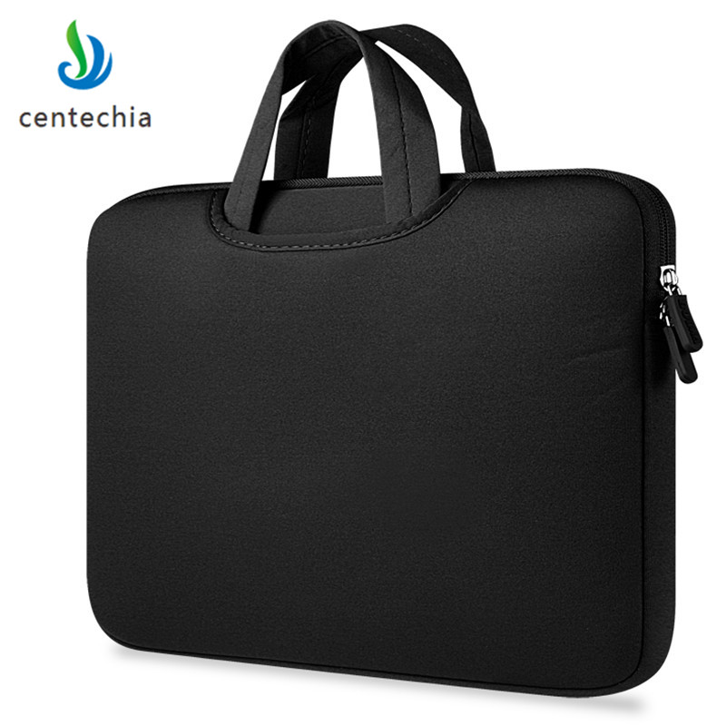 Image 2 - Centechia 11 13.3 15.4 15.6 inch Laptop Bag Case Laptop Handbags Sleeve Case  Zipper Computer Sleeve Case For Laptop PC Tablet-in Laptop Bags & Cases from Computer & Office