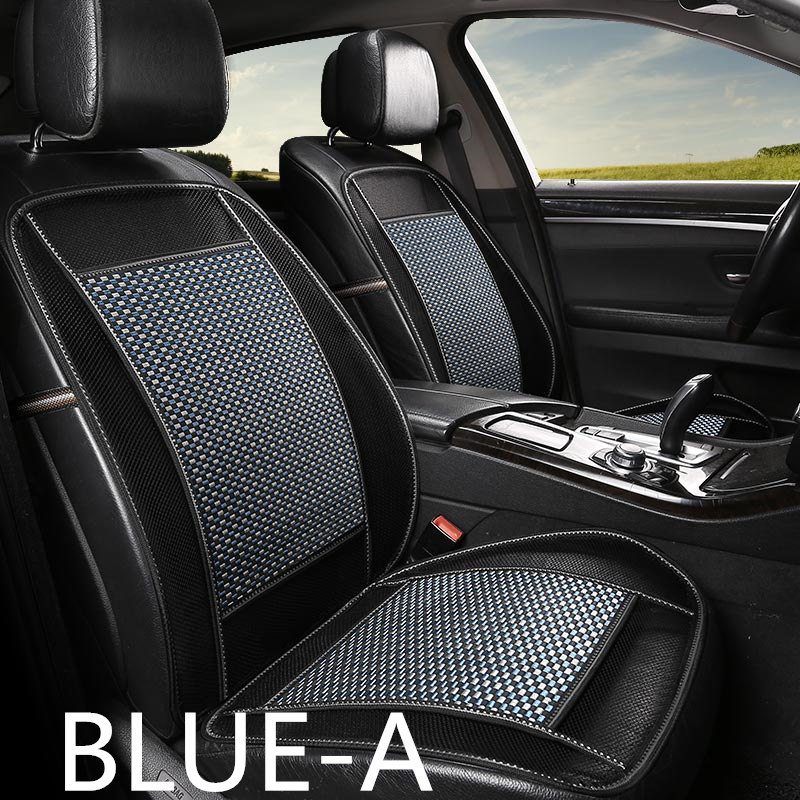 2018 new design Natural environmental protection Wood beads& bamboo car cushion in summer cooling&breathing car seat cover